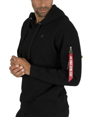 Alpha Industries X-Fit Pullover Hoodie - Black