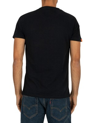 Superdry Orange Label Vintage EMB T-Shirt - Eclipse Navy