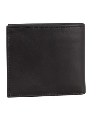 Levi's Vintage Two Fold Bifold Wallet - Black