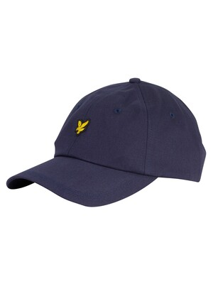 Lyle & Scott Cotton Twill Baseball Cap - Dark Navy