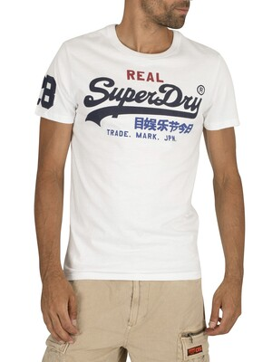Superdry Vintage Logo Tri T-Shirt - Optic