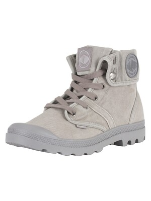 Palladium Pallabrouse Baggy Boots - Titanium/Hight Rise