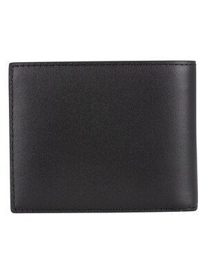 Lacoste Billfold Leather Wallet - Black