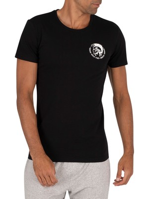 Diesel 3 Pack Crew T-Shirt - Black/Navy/White