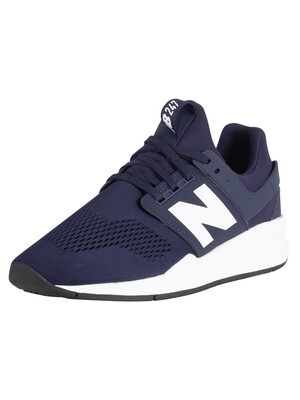 New Balance 247 Trainers - Navy