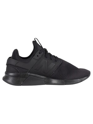 New Balance 247 Trainers - Black