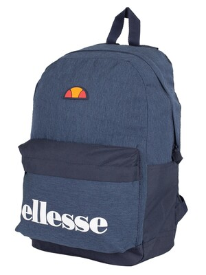Ellesse Regent Backpack - Navy/Navy Marl