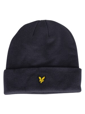 Lyle & Scott Dark Navy Logo Beanie
