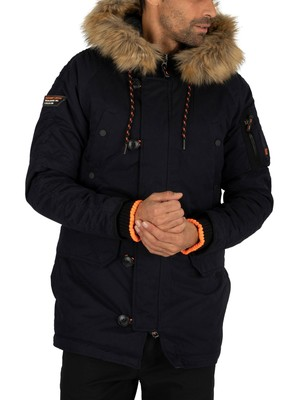 Superdry SDX Parka Jacket - Dark Navy