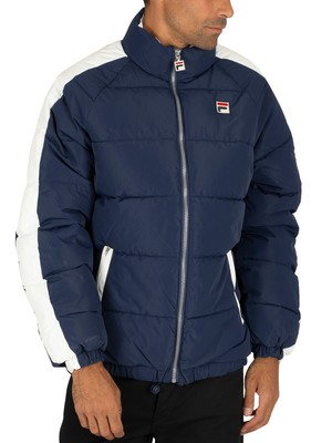 Fila Ledger Puffer Jacket - Peacoat