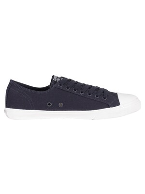 Superdry Low Pro Sneaker Trainers - Navy