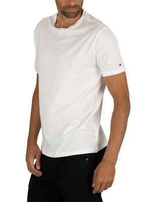 Tommy Hilfiger 2 Pack Cotton T-Shirts - White