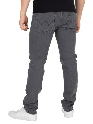 Edwin ED-85 Slim Tapered Drop Crotch Jeans - Black Bristol Wash
