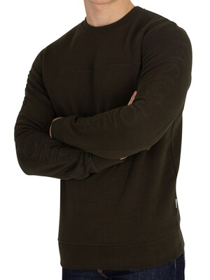 Jack & Jones Cole Sweatshirt - Rosin