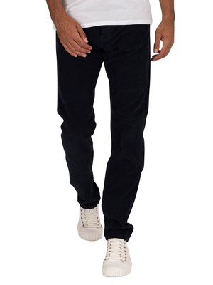 Lois Jeans Sierra Thin Corduroy Trousers - Navy Blue
