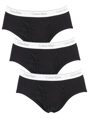 Calvin Klein 3 Pack Briefs - Black