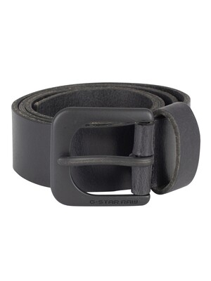 G-Star Zed Belt - Black/Black