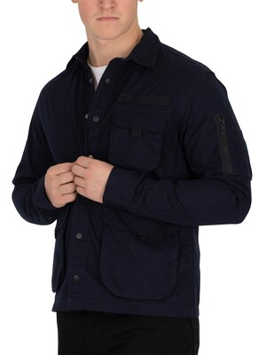 Jack & Jones West Worker Shirt - Sky Captain