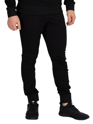 G-Star 5621 Slim Tapered Joggers - Dark Black