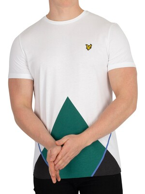Lyle & Scott Argyle T-Shirt - White