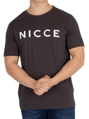 Nicce London Original Logo T-Shirt - Coal