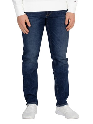 Tommy Hilfiger Straight Denton Jeans - Ammon Blue