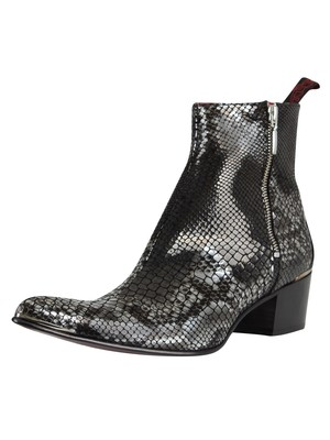 Jeffery West Creek Leather Boots - Black