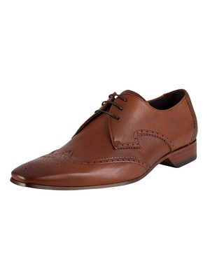 Jeffery West Escobar Leather Shoes - Tan