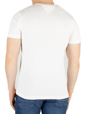 Tommy Hilfiger Logo T-Shirt - Bright White