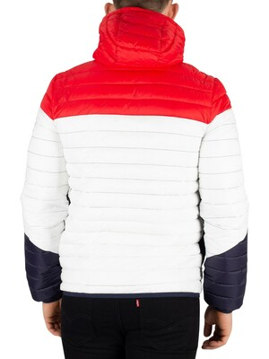 Superdry Axis Padded Jacket - Optic Mix