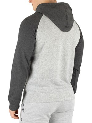 Jack & Jones Leon Pullover Hoodie - Light Grey