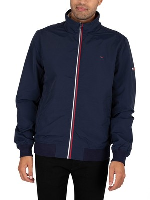 Tommy Jeans Essential Casual Bomber Jacket - Black Iris Navy