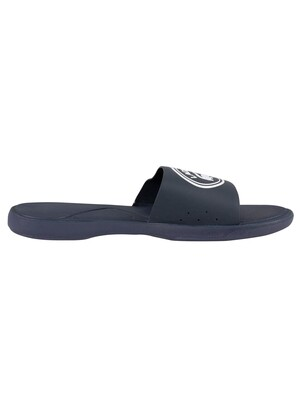 Lacoste L.30 119 3 CMA Sliders - Navy/White