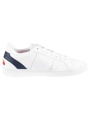 Ellesse LS-80 Leather Trainers - White