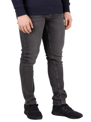 Jack & Jones Glenn Original 007 Slim Fit Jeans - Grey Denim
