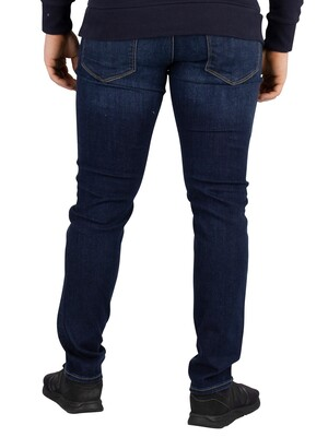 Jack & Jones Glenn Slim Fit 743 Jeans - Blue Denim