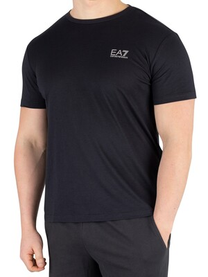 EA7 Jersey T-Shirt - Night Blue