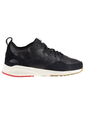 Ellesse Potenza Leather Trainers - Black