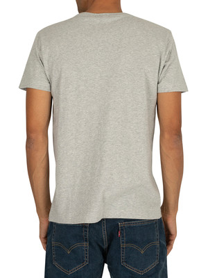 Gant The Original T-Shirt - Light Grey Melange