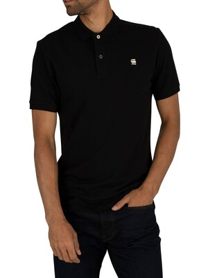 G-Star Dunda Slim Polo Shirt - Dark Black