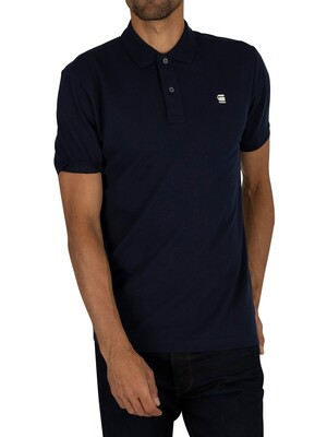G-Star Dunda Slim Polo Shirt - Sartho Blue