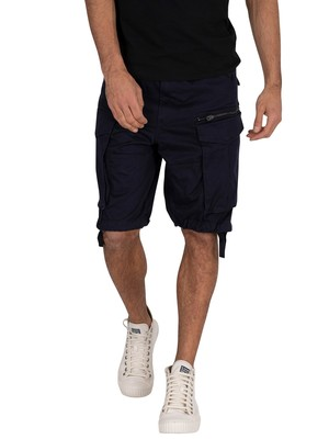 G-Star Rovic Zip Relaxed Cargo Shorts - Mazarine Blue