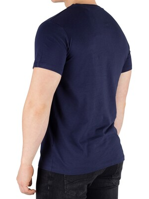 Timberland Cut And Sew T-Shirt - Navy