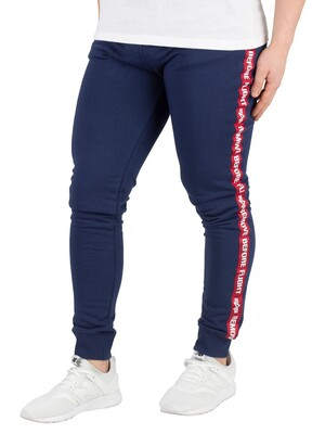 Alpha Industries RBF Tape Joggers - New Navy