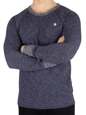 G-Star Jirgi Longsleeved T-Shirt - Sartho Blue Heather