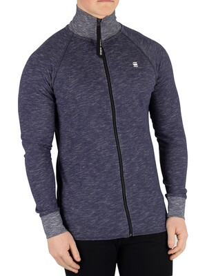 G-Star Jirgi Zip Track Top - Sartho Blue Heather