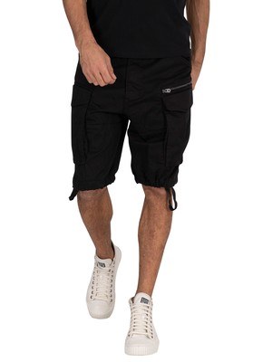 G-Star Rovic Zip Relaxed Cargo Shorts - Black