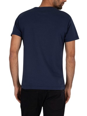 Hackett London Classic Logo T-Shirt - Navy