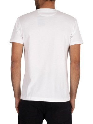 Hackett London Classic Logo T-Shirt - White