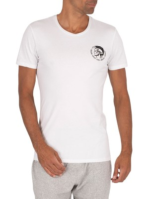 Diesel White 3 Pack Randal T-Shirts